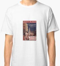 Sherlock Holmes  - The Strand Magazine Cover - Vintage Print Classic T-Shirt
