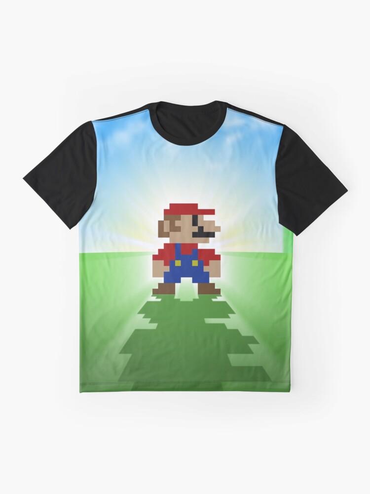 Alternative Ansicht von Mario Grafik T-Shirt