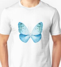 MISS BUTTERFLY EUPLOEA X-RAY White Edition Unisex T-Shirt