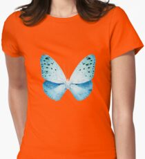 MISS BUTTERFLY EUPLOEA X-RAY White Edition Womens Fitted T-Shirt