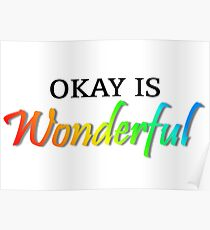 Okay is Wonderful - AVPM Poster
