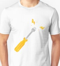 retro cartoon screwdriver Unisex T-Shirt