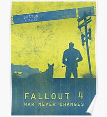Fallout 4 Game Poster Poster