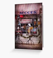 Cafe - Clinton, NJ - The luncheonette  Greeting Card