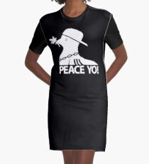peace yo! Graphic T-Shirt Dress