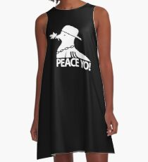 peace yo! A-Line Dress