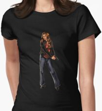 Kate Beckett / Nikki Heat Womens Fitted T-Shirt