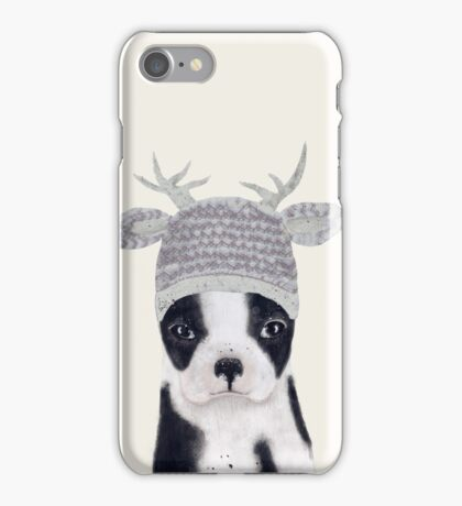 little boston ooh deer iPhone Case/Skin