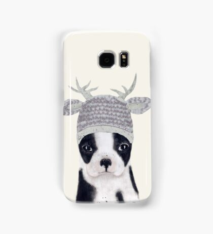 little boston ooh deer Samsung Galaxy Case/Skin