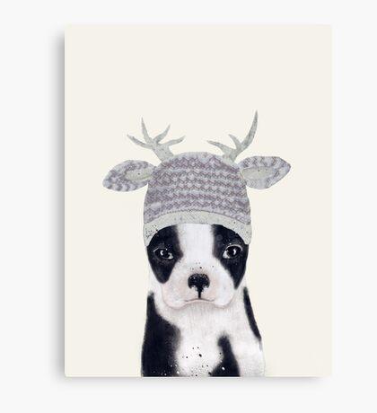 little boston ooh deer Canvas Print