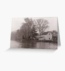 Home on Lake Greeting Card