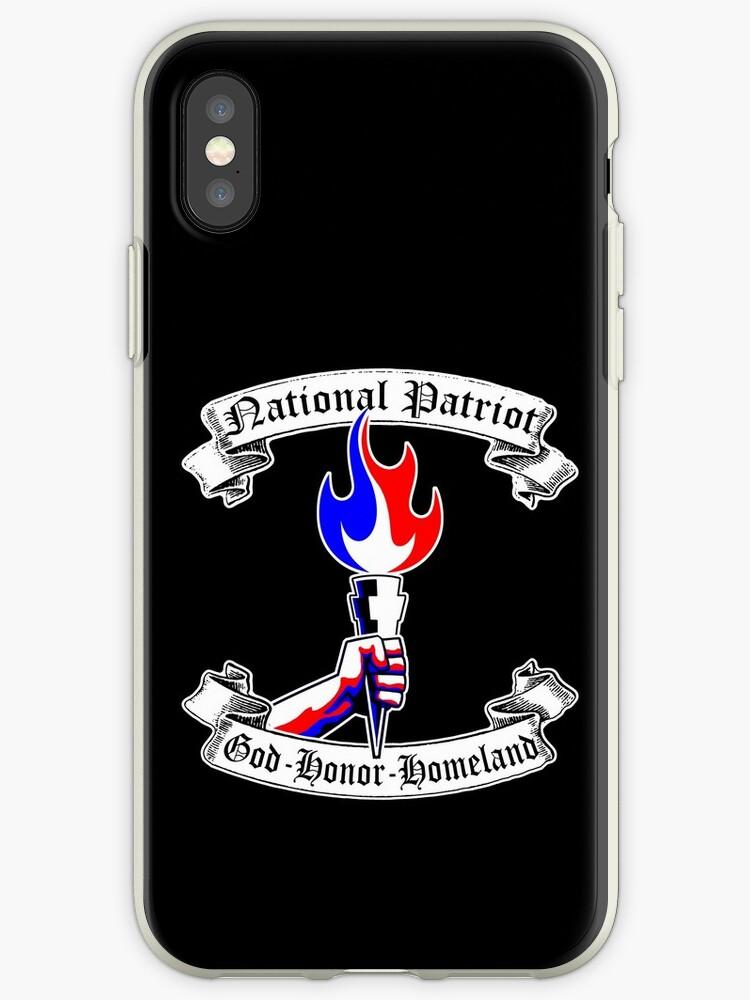 NATIONAL PATRIOT - GOD HONOR HOMELAND  by Calgacus