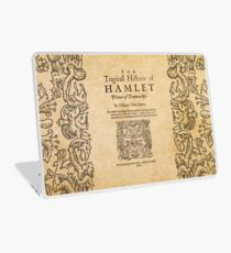 Shakespeare, Hamlet 1603 Laptop Skin