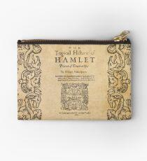 Shakespeare, Hamlet 1603 Zipper Pouch