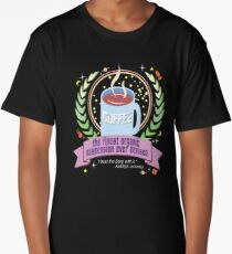 Coffee, the finest organic suspension ever devised Long T-Shirt