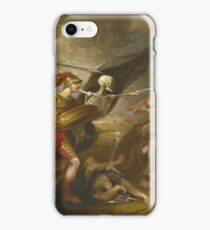 John Trumbull - Joshua At The Battle Of Ai - Attended By Death iPhone Case/Skin