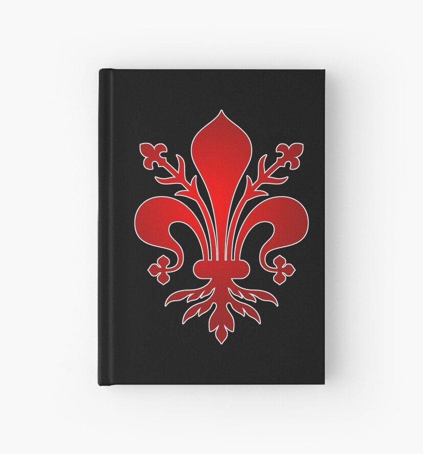 Florence Medici Family Symbol Logo Hardcover Journals By
