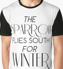 Skulduggery Pleasant: The Sparrow Flies South for Winter Graphic T-Shirt