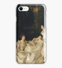 John Singer Sargent - The Wyndham Sisters iPhone Case/Skin