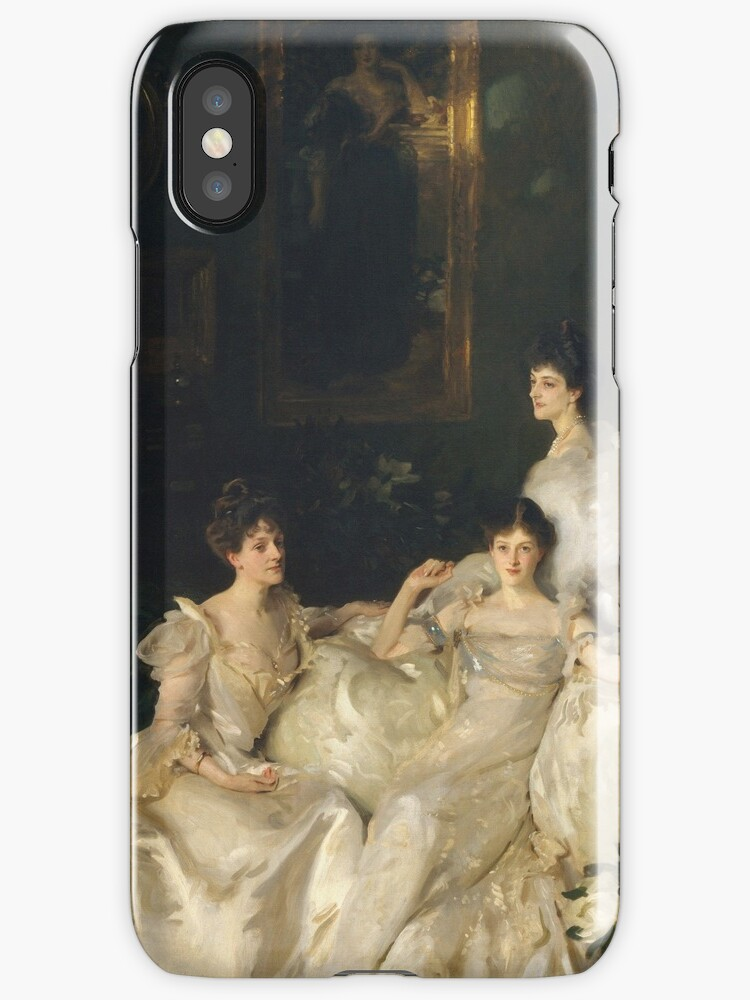 John Singer Sargent - The Wyndham Sisters by artcenter
