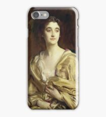 John Singer Sargent - Portrait Of Sybil, Countess Rocksavage, Later Marchioness Of Cholmondeley iPhone Case/Skin