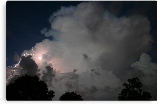 Evening Thunderstorm by MMerritt