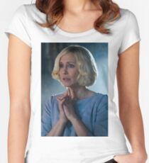 BATES MOTEL - NORMA BATES Women's Fitted Scoop T-Shirt