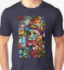 Bill Murray Junk Drawer Scavenger Hunt in Sharpie Marker Unisex T-Shirt
