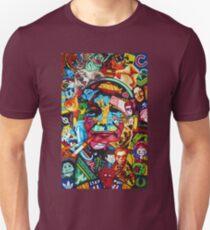 Bill Murray Junk Drawer Scavenger Hunt in Sharpie Marker T-Shirt