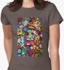 Bill Murray Junk Drawer Scavenger Hunt in Sharpie Marker Womens Fitted T-Shirt