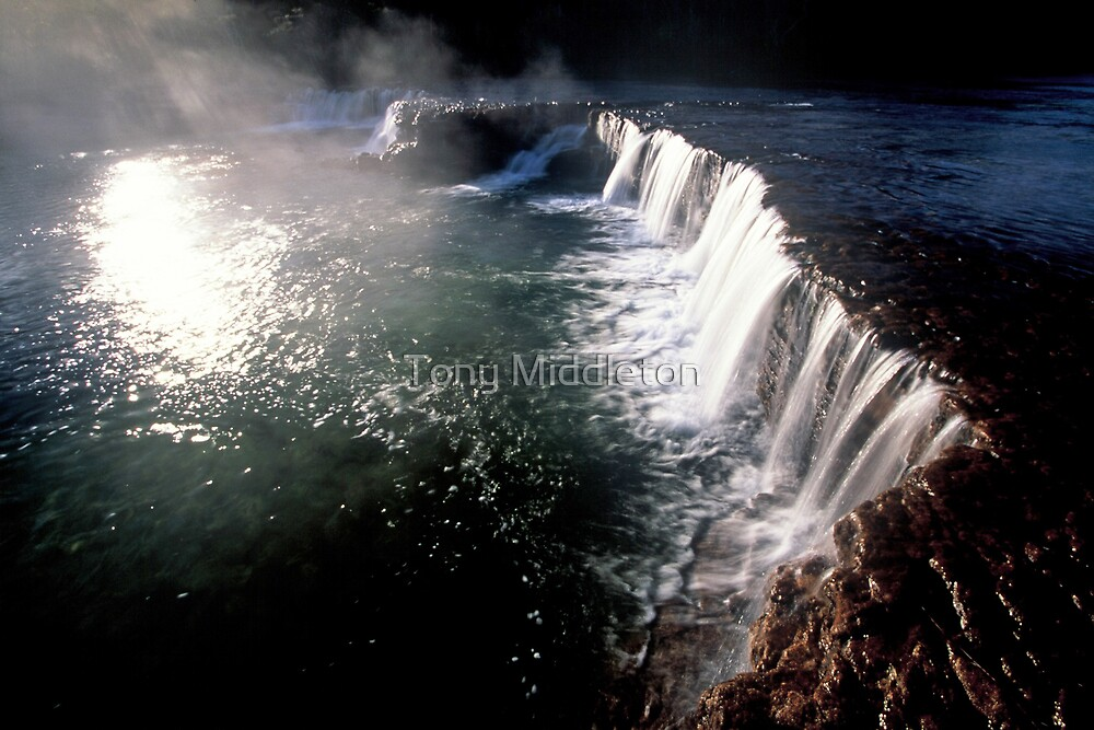 Angelic waters - Cape York by Tony Middleton