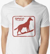 Dingo Flour Men's V-Neck T-Shirt