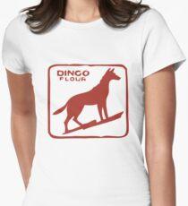 Dingo Flour Womens Fitted T-Shirt