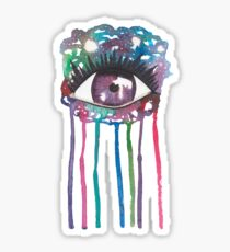Cosmic Splash Eye Sticker