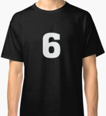 Sports Team Jersey T Shirt - Number Front & Back Player Classic T-Shirt