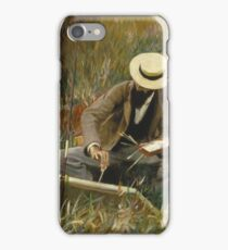 John Singer Sargent - An Out-Of-Doors Study1889 iPhone Case/Skin