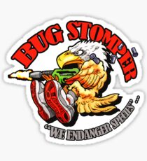 USCM BUG STOMPER! Sticker