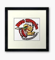 USCM BUG STOMPER! Framed Print