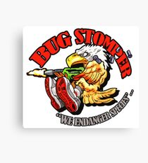 USCM BUG STOMPER! Canvas Print