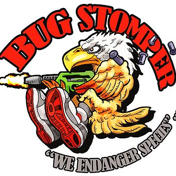 USCM BUG STOMPER! by strangelysaucy