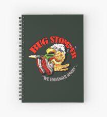USCM BUG STOMPER! Spiral Notebook