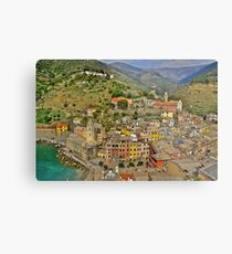 From the Tower of Vernazza (Cinque Terra) Metal Print