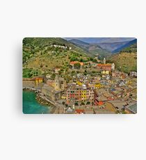 From the Tower of Vernazza (Cinque Terra) Canvas Print