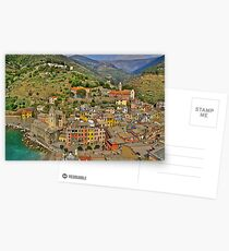 From the Tower of Vernazza (Cinque Terra) Postcards