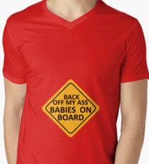 BABIES ON BOARD Men's V-Neck T-Shirt