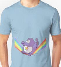Sitting on a rainbow Unisex T-Shirt