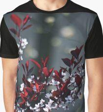 Japanese Plum Tree Graphic T-Shirt
