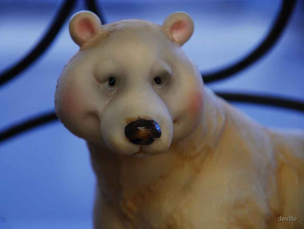 just a canadian Polar Bear by deville