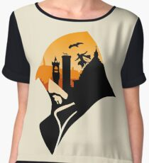 Sunset in Florence (1476) Chiffon Top