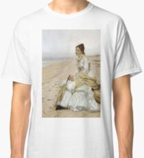 John George Brown - Waiting For William Classic T-Shirt